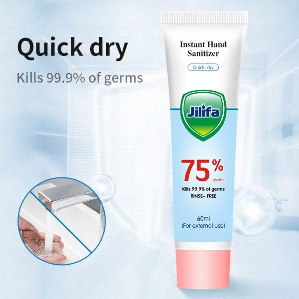 Tube of 60ml hand sanitiser